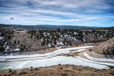 Duchesne Photograph - Starvation Reservoir by Brett Engle