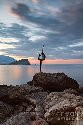Photograph - Statue In Budva Montenegro by Sophie McAulay