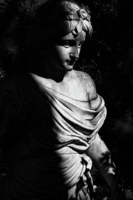 Photograph - Statue by Jay Stockhaus