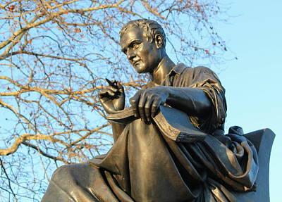 Photograph - Statue Of Jean-jacques Rousseau, Geneva, Switzerland by Elenarts - Elena Duvernay photo