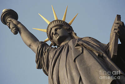 Photograph - Statue Of Liberty by Auguste Bartholdi