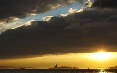 Nyc Digital Art - Statue Of Liberty by Maye Loeser