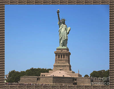 Photograph - Statue Of Liberty New York America July 2015 Photo By Navinjoshi At Fineartamerica.com  Island Landm by Navin Joshi