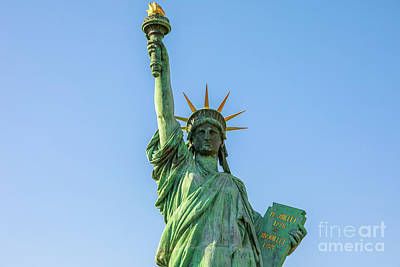 Photograph - Statue Of Liberty Tokyo by Benny Marty