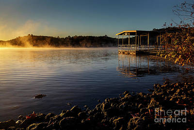 Photograph - Mist On The Lake by Dennis Hedberg