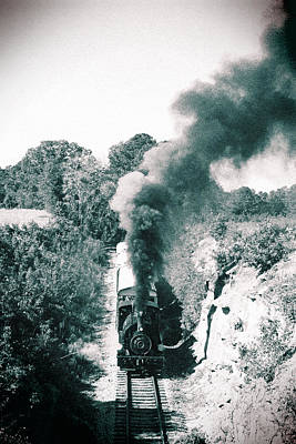 Photograph - Steam On The South Carolina Railroad Museum 2 by Joseph C Hinson Photography