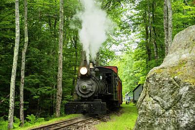 Photograph - Steam Train #3 by Alana Ranney