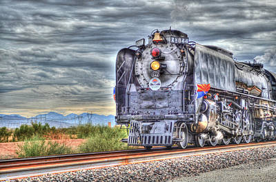 Steam Train No 844 Art Print