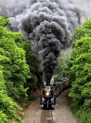 Photograph - Steaming by Art Cole