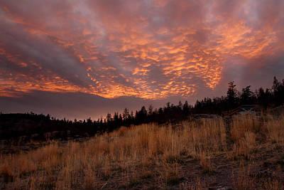 Steelhead Provincial Park Sunset Art Print by Pierre Leclerc Photography