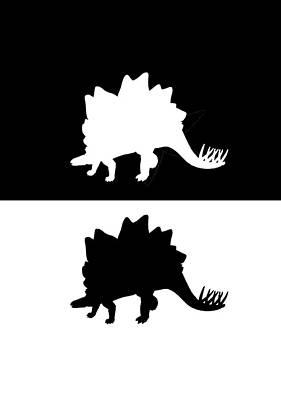 Animal Lover Digital Art - Stegosaurus by Steph J Marten