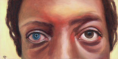 Painting - Stephanie's Artificial Cornea by Kirsten Beitler