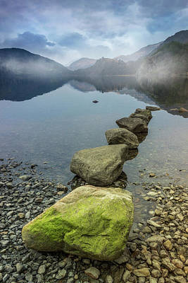 Photograph - Stepping Stones by Ian Mitchell