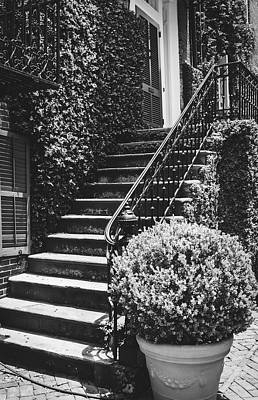 Photograph - Steps To Home - Savannah, Georgia by Library Of Congress