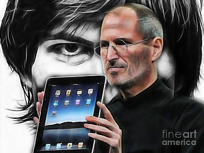 Steve Jobs Collection Art Print