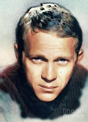 Musicians Royalty Free Images - Steve McQueen, Actor Royalty-Free Image by John Springfield
