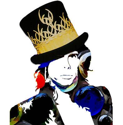 Steven Tyler Digital Art - Steven Tyler by Love Art