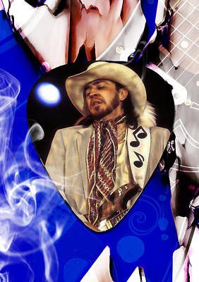 Stevie Ray Vaughan Art Art Print