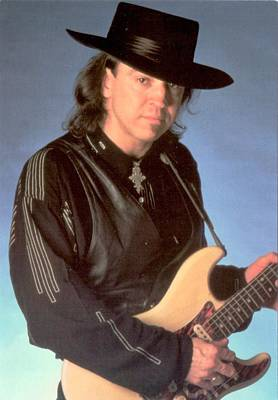 Stevie Ray Vaughan Photograph - Stevie Ray Vaughan by Donna Wilson