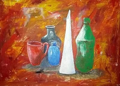 Still Life Original by Khalid Saeed