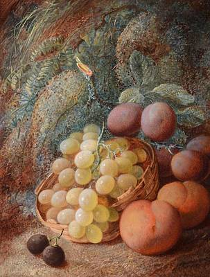Vincent Painting - Still Life Of Summer Fruits by Vincent Clare