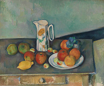 Painting - Still Life by Paul Cezanne