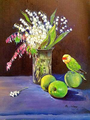 Painting - Still Life by Rose Wang