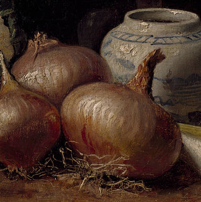 Painting - Still Life With Onions by Eugene Jansson