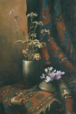 Couple Painting - Still-life With Snow Drops by Tigran Ghulyan