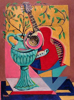 Still Life With Sound Art Print by Dennis Tawes