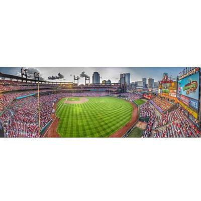 Baseball Wall Art - Photograph - #stl #stlcards #stlouis by David Haskett II