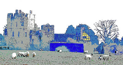 Digital Art - Stokesay Castle by Mary Castellan