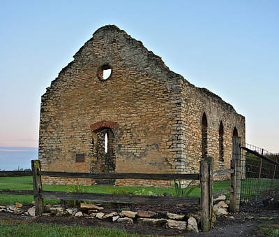 Photograph - Stone Church by Bonfire Photography