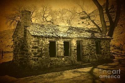 Photograph - Stone House by Steven Parker