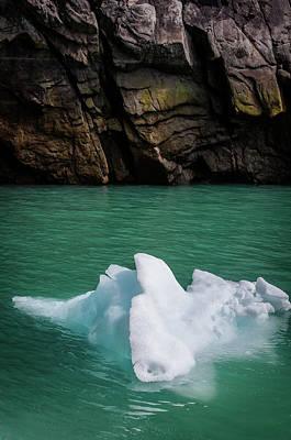 Photograph - Water, Stone, Ice  by David Halperin