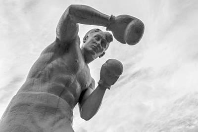 Photograph - Stone Man Boxer  by John Williams