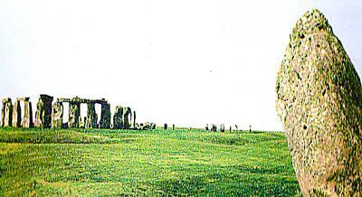 Photograph - Stonehenge England by Merton Allen