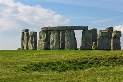 Megalith Photograph - Stonehenge In England by Brandon Bourdages