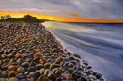Stony Beach Art Print by Mats Eriksson