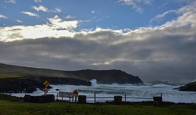 Photograph - Storm At Clogher Beach by Barbara Walsh