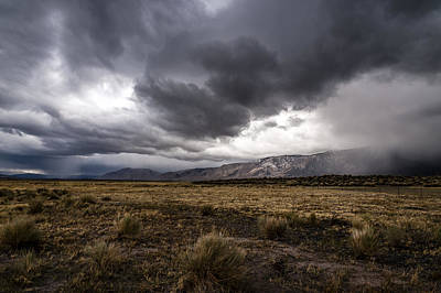 Photograph - Storm Clouds by Cat Connor