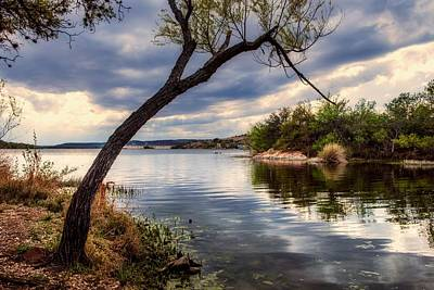 Photograph - Storm Clouds Over Inks Lake by L O C