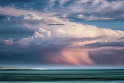 Photograph - Storm On The Sound by John Whitmarsh