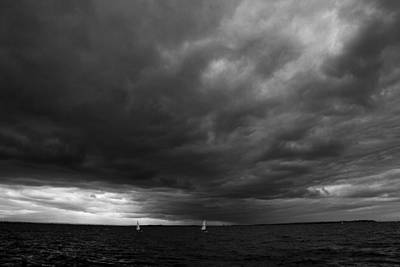 Photograph - Storm Over Medway by David French