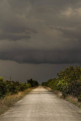 Photograph - Storm Over The Everglades by Rudy Umans