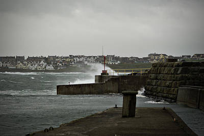 Photograph - Stormy Portrush Harbour by Colin Clarke