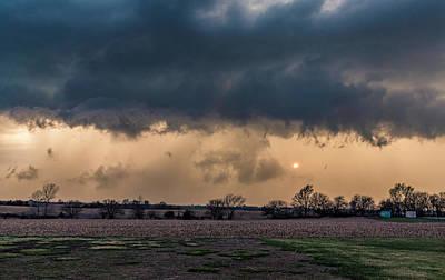 Photograph - Stormy Sunset by Willard Sharp