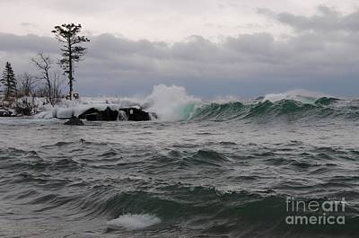 Photograph - Stormy Superior by Sandra Updyke