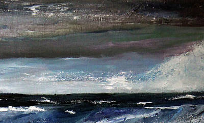 Painting - Stormy Weather by Michael Helfen