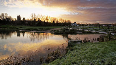 Photograph - Stour River Sunrise by Ian Merton